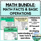 Math Facts - Basic Operations & Number Sense Package *BUNDLE*