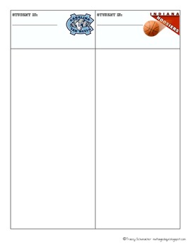 Math Facts Basketball
