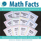 Math Facts Booklets (Easy Assembly)