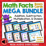 Math Facts Boom Cards Mega Bundle (with Audio Directions)