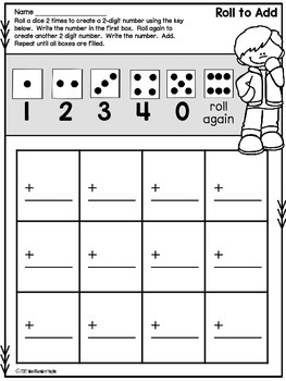 Math Facts Bundle - 2-Digit Addition