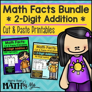 Math Facts Bundle - 2-Digit Addition