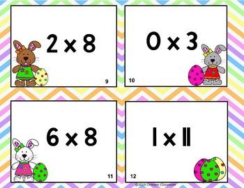 Math Facts Bunny Hop Math Scoot