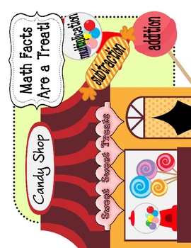 Math Facts Candy Shop Center