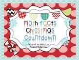Math Facts Christmas Countdown