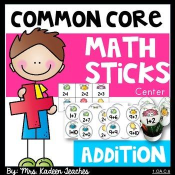 Math Facts-Common Core Addition Sticks