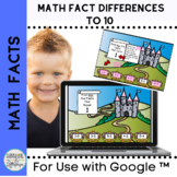 Math Facts Differences to 10 Minuend not Higher than 11 fo