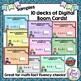 Math Facts Digital Task Cards & Paper Math Fact Assessment (10 sets included)