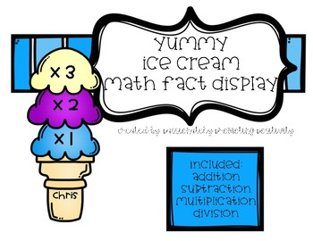 Math Facts Display