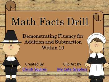 Math Facts Drill (Power Point)