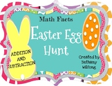Math Facts Easter Egg Hunter for Kindergarten