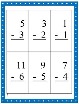 Math Facts Flashcards - Near Doubles