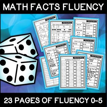 Fact Fluency 0-5 Teaching Resources   Teachers Pay Teachers