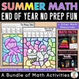 Math Facts Fluency Bundle: 1st & 2nd Grade Math Centers -