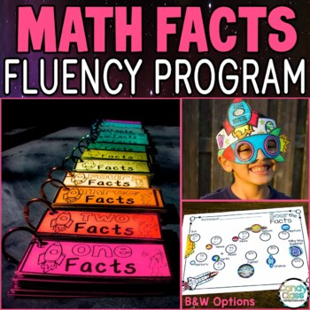 Math Facts Fluency Addition & Subtraction with Digital Math Center Boom Cards