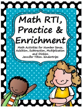 Math Facts Fluency-All Operations-RTI