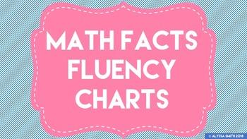 Math Facts Fluency Charts