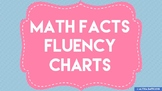 Math Facts Fluency Charts
