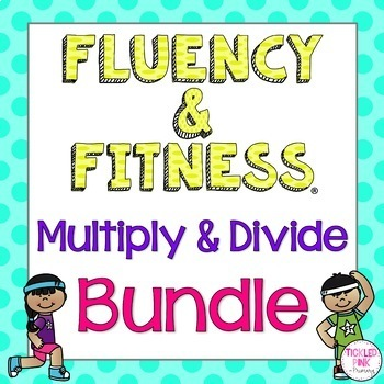Math Facts Fluency & Fitness® BUNDLE (Multiplication and Division)
