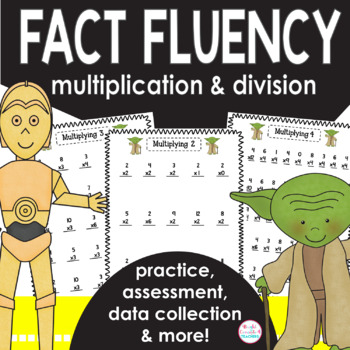 Math Facts Fluency-May the Force Be With You! {Multiplicat