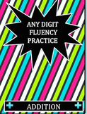 Math Facts Fluency Practice All Year