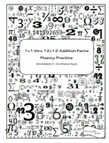 Math Facts Fluency Practice Workbooks