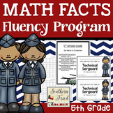 Math Facts Fluency Program Fifth Grade (All Operations)