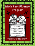 Math Facts Fluency Practice With Data Tracking