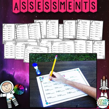 Math Facts Fluency Timed Tests for Addition & Subtraction Facts to 20 and 24