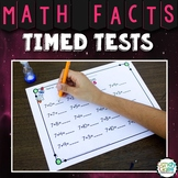 Math Facts Fluency Timed Tests for Addition & Subtraction