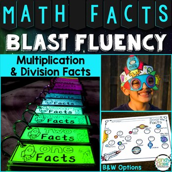 Math Facts Fluency for Multiplication and Division: 3rd & 4th Grade Math Centers