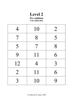 Math Facts Fun Game