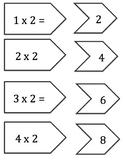Math Facts Game - Matching