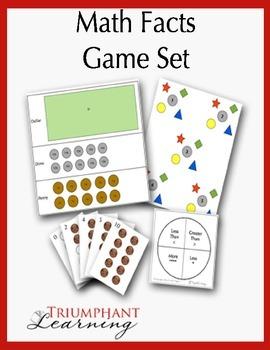 Math Facts Game Set