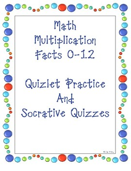 Math Facts  Games and Quizzes