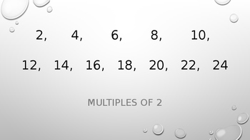Math Facts Get Me Closer Song