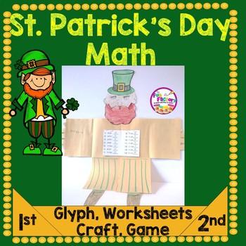 St. Patrick's Day Math and Craftivity