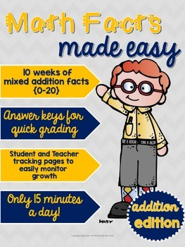 Math Facts Made Easy: Addition Edition