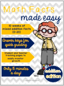 Math Facts Made Easy: Bundle!
