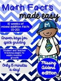 Math Facts Made Easy: Missing Addend Edition