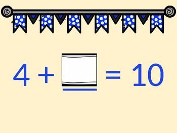 Math Facts: Making 10