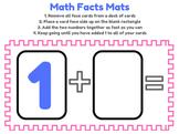 Math Facts Mats - Addition - Math Center