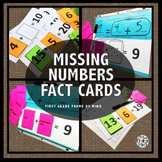 Part Part Whole Missing Number Cards