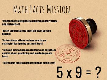 Math Facts Fluency Mission