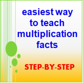 Math Facts - multiplication