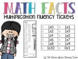 Math Facts: Multiplication Fluency Tickets