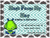 Math Facts My Way - Alternative to Saxon