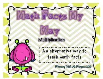 Math Facts My Way - Alternative to Saxon - Multiplication