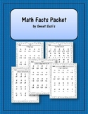 {FREE} Math Facts Packet