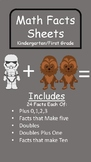 Math Facts- Plus 0,1,2,3--Doubles, Doubles Plus One, and More!